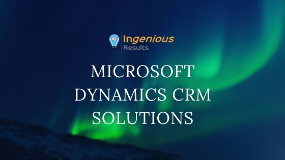 Trends of Microsoft Dynamics CRM in 2020