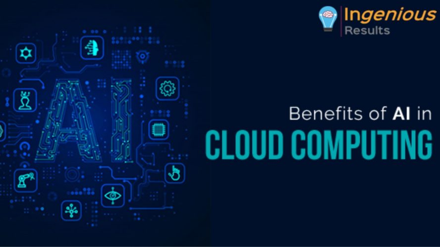 Four Benefits of AI in cloud computing